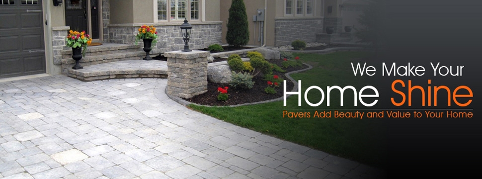 Montreal Pavers Paving Stones Pave Uni Pressure Wash